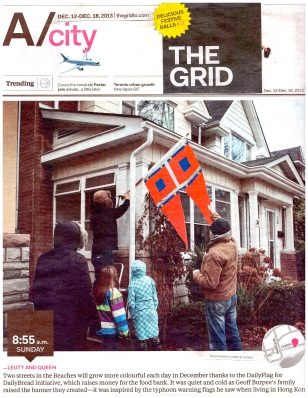 The now defunct Grid covered Daily Flag for Daily Bread in 2013...